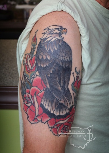 eagle-tattoo-great-lakes-tattoo-ohio