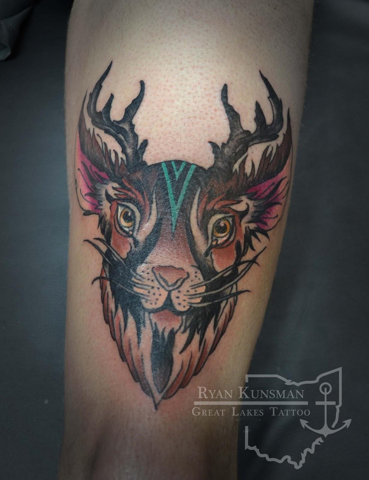 jackalope tattoo ohio arcola creek tattoo