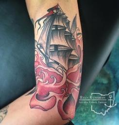 2f57566bd ship-rose-arcola-creek-tattoo. skull-tattoo-ohio