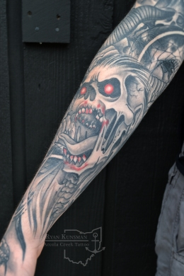 zombie-tattoo-sleeve